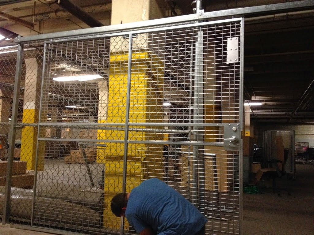 Security Cages Installed At LaGuardia Community College On Thomson Ave Long  Island City.