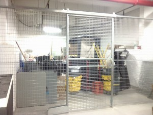 welded wire security cages Queens NY