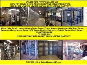 Woven Wire Security Cages NYC