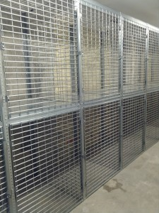 Tenant Storage Cages 2 tier Queens NY