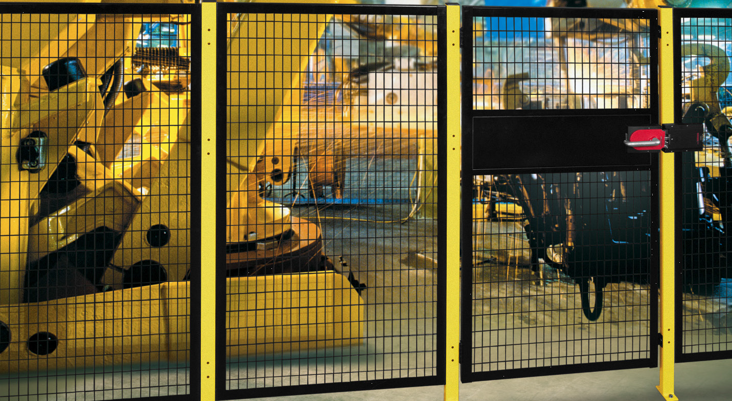 Safety Fence Machine Perimeter Guarding Nj Lockersusa