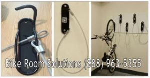 """Wall Mount Bike Brackets Astoria Queens. Space saving, Allows bikes to be stored just 12"""" apart and easy to use. Free bike room layouts. P(917) 837-0032. Wall Mount Bike Brackets Astoria."""