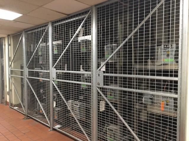 Wire Cage Door | Security Cage Doors Nyc Archives Lockersusa
