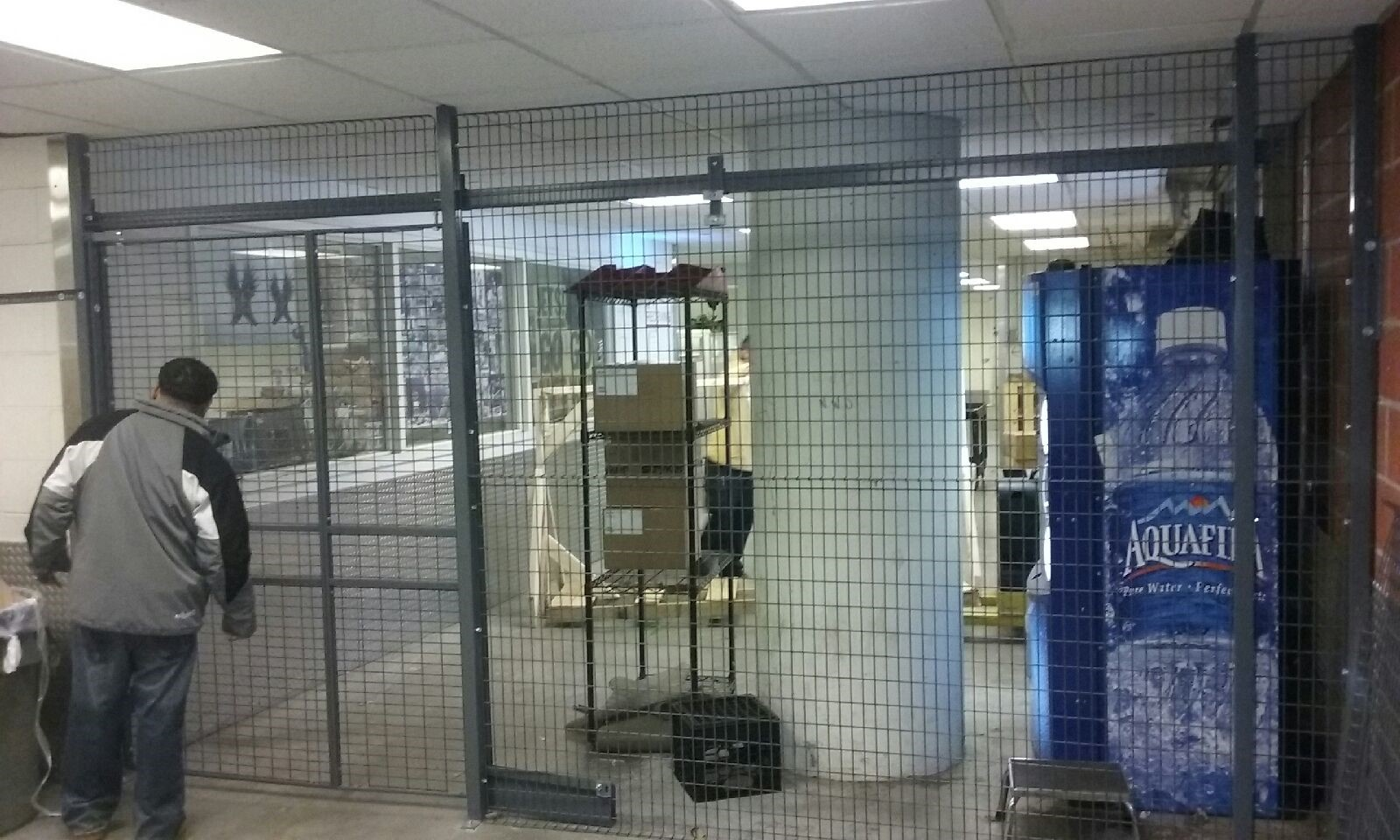 Welded Wire Partitions Cages Yonkers