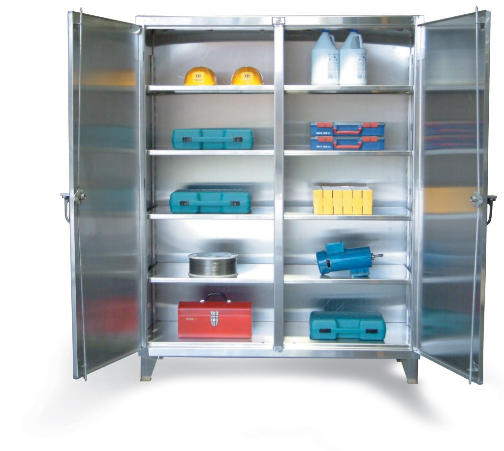 Strong Hold Stainless Steel Cabinets Nj Lockersusa