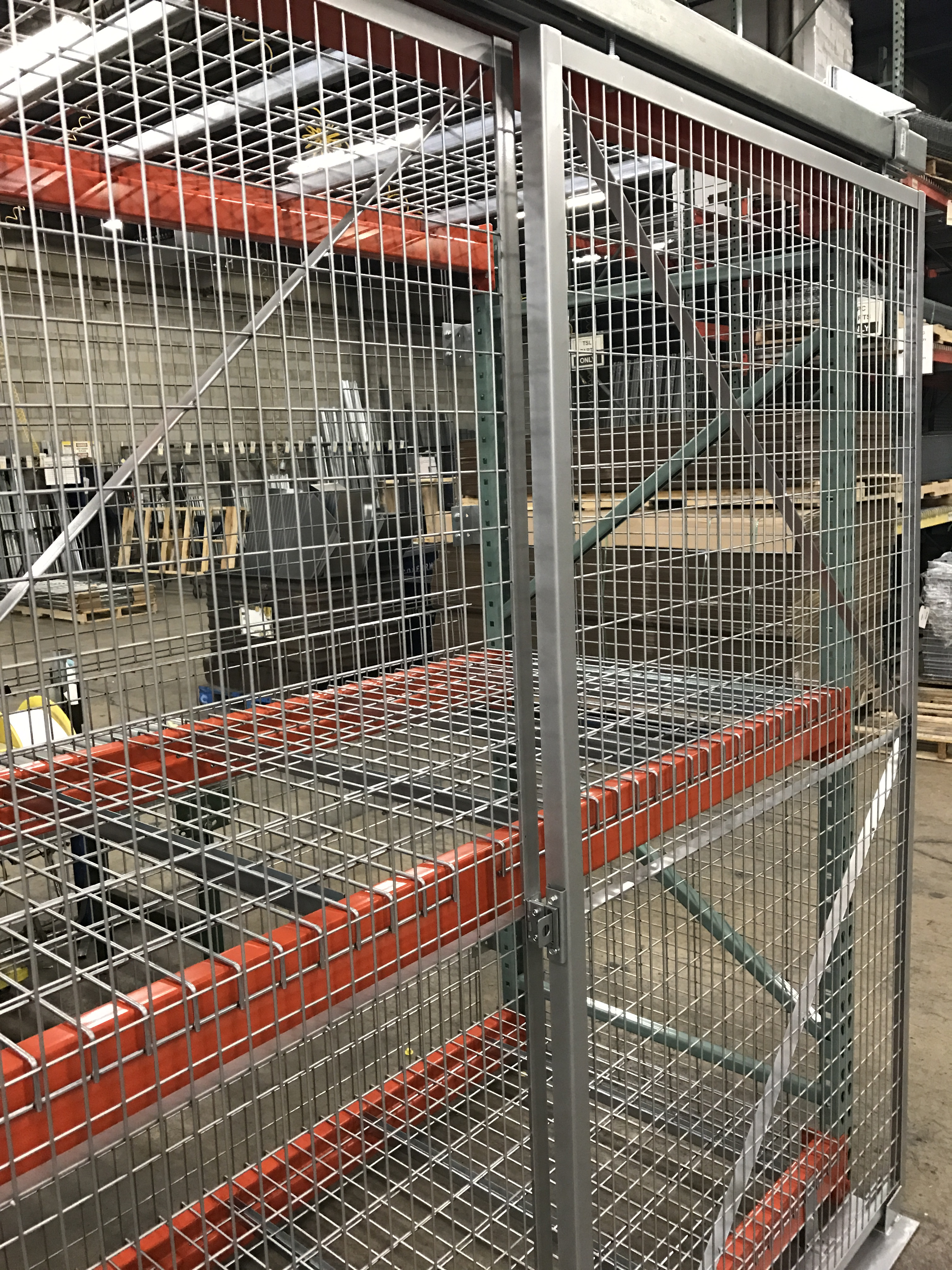 Pallet Rack Enclosure Cages Nj Lockersusa