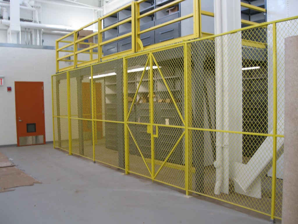 Wire Partitions Security Cages Thorofare Lockersusa