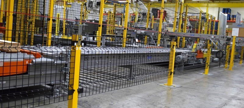 Conveyors Machine Guarding Safety Cage Nj Lockersusa