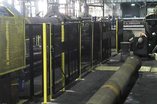 Machine Guard Safety Fence Ohio Lockersusa
