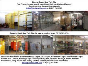 Storage Cages New York City