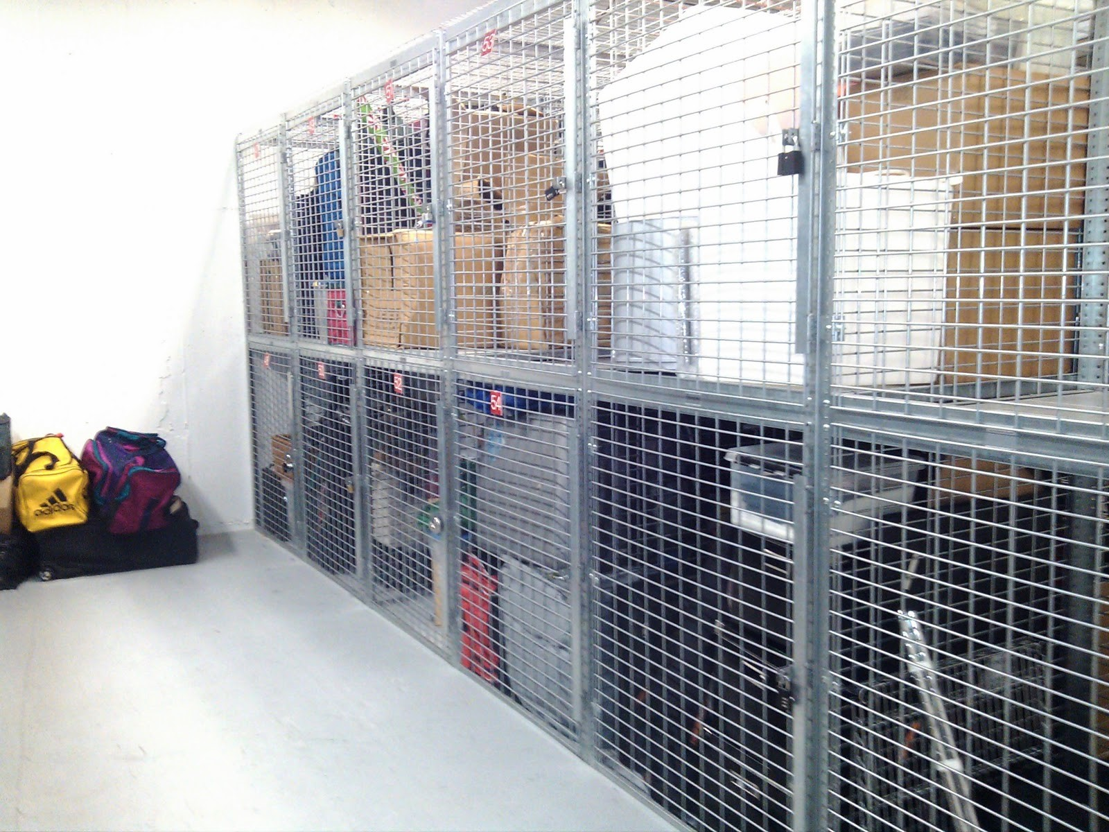 Tenant Storage Cages Boston Lockersusa