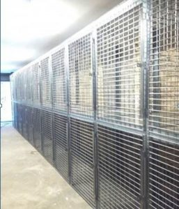 Folding Guard Tenant Storage Cages NYC