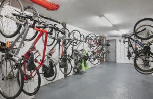 Wall Mount Vertical bike racks Philadelphia