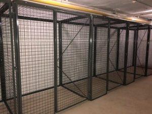 Foldingguard Tenant Storage Cages NYC