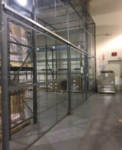 Inventory Security Cages New Jersey
