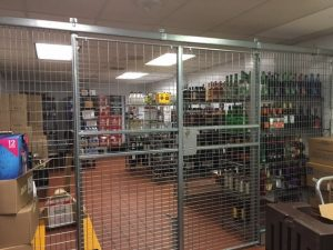 Inventory Security Cages NJ