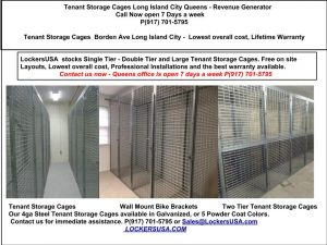 Tenant Storage Cages Long Island City Queens