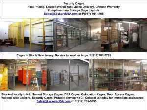 Warehouse Security Cage NJ