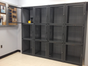 Welded Wire Lockers NYC 10001