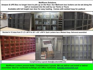 Mailroom Box Lockers NYC