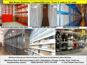 Mail Room Shelving New York City