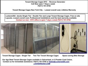 Tenant Storage Cages E 125th St NYC 10035