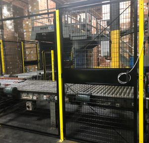 machine guarding conveyor safety fence New Jersey
