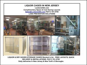 Liquor Security Cages NJ