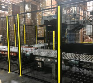 Machine Guarding Conveyors safety cage NJ