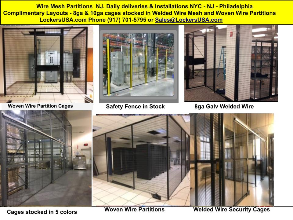 Wire Mesh Partitions New Jersey