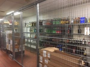 Liquor Security Cages NJ