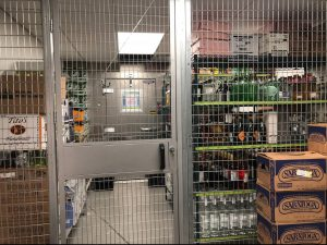 Liquor Storage Cages New Jersey