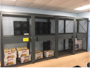 Loss prevention cages NJ