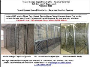 Tenant Storage Lockers Philadelphia PA