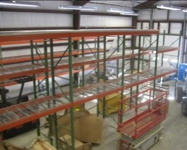 Pallet Rack Port Reading