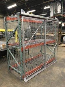 Pallet Racking Cage Enclosures South Plainfield
