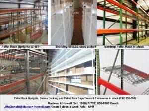 Pallet Rack Holmdel NJ 07733