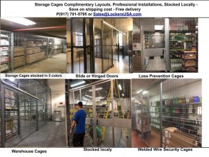 Storage Cages E Rutherford