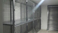 Tenant Storage Cages NYC two tier