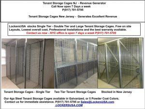 Tenant Stoage Cages Florham Park