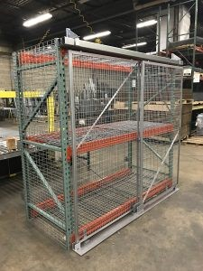 Pallet Racking Cage Doors NJ