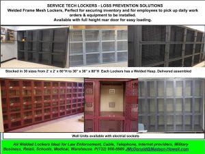 Technician Lockers NJ