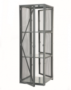 Technician Lockers NJ, Full size rear door optional, Ideal for loading all lockers quickly.