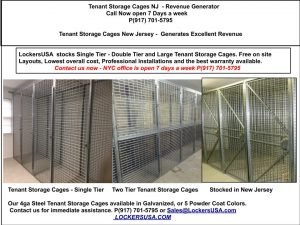 Tenant Storage Cages Mercer County NJ