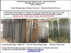 Tenant Storage Cages Wallington NJ 07055