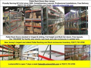Pallet Rack Doors New Jersey