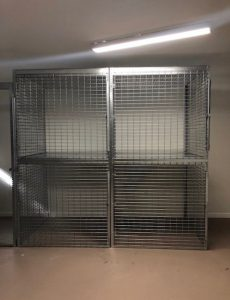 Tenant Storage Cages Delaware