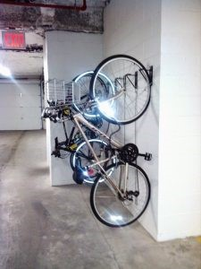 Wall mount vertical bike brackets Marlboro NJ 07746