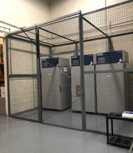 DEA Cage with Sliding Gate