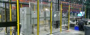 Conveyor Machine guarding safety fence NJ